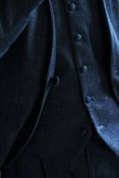 デニム素材を使用したカジュアルウェディングのオーダーメイド新郎衣装|lifestyleorder