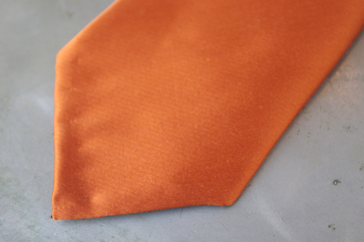 オーダーネクタイ,セッテピエゲキャロットオレンジ