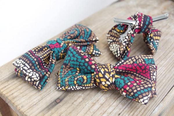 蝶ネクタイ|ヴィンテージ素材