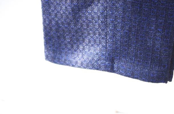 リネンスーツ|パンツ裾口