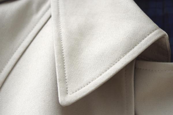 オーダートレンチコート|衿
