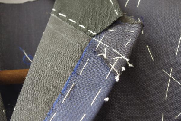 仮縫|ラペル