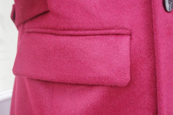 オーダーメイドコート|カシミヤ腰ポケット