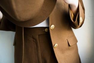 レディースフランネルスーツ
