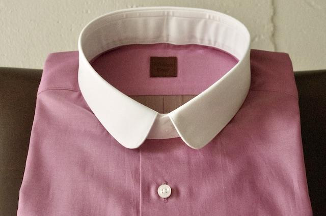 ラウンドカラーシャツ,オーダーメイド