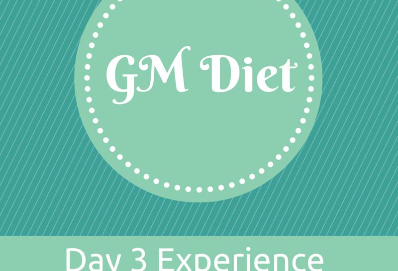 Vegetarian Indian GM Diet Day 3