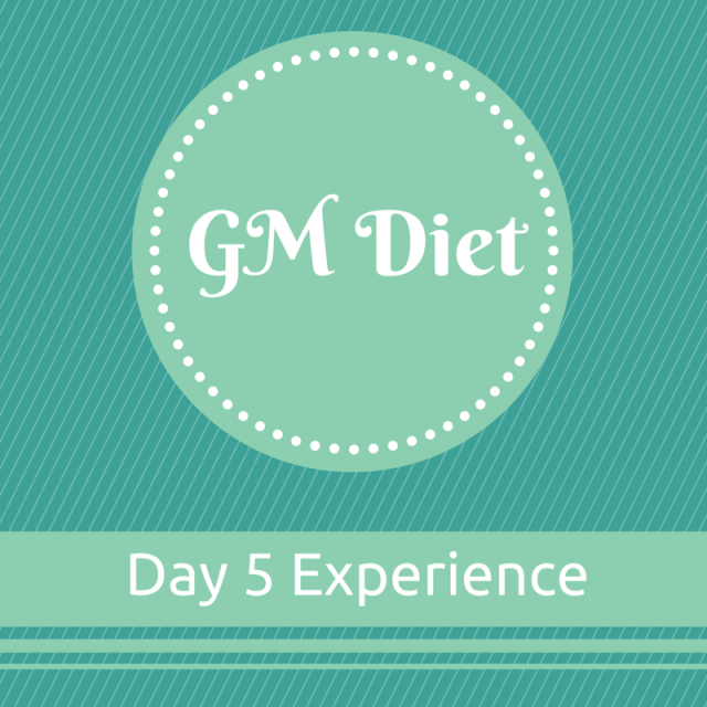 Vegetarian Indian GM Diet Day 5