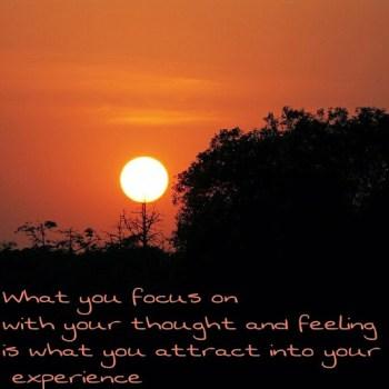Quote Sunset