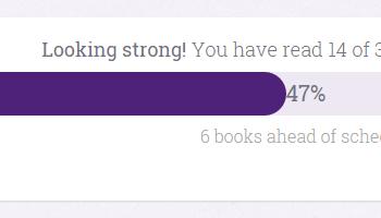 Goodreads Book Challenge Apr 2015