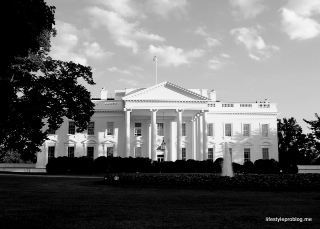 White House Black and White