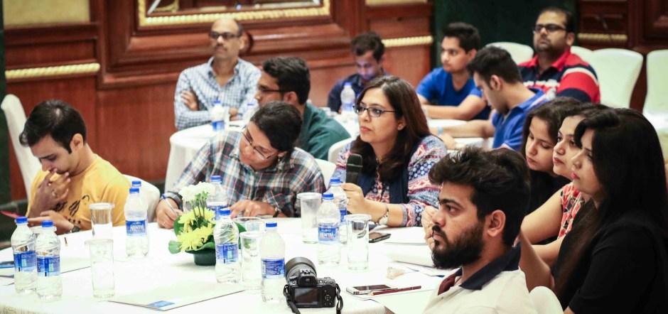 Bloggers at Volini Meet