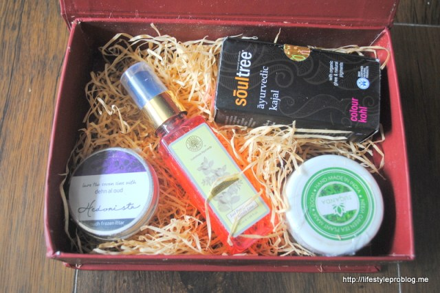 My Envy Box August Packaging