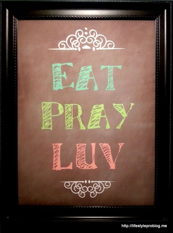 Eat Pray Luv