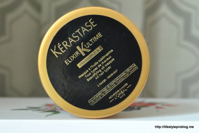My Envy Box October 2015 Kerstase Elixir Ultimate Masque