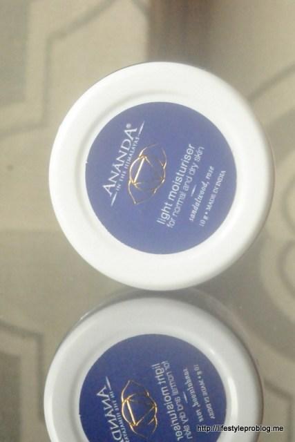 My Envy Box December 2015 Ananda Light Moisturiser for Dry and Normal Skin