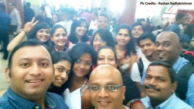 Tata Motors Zica Event Airport Selfie