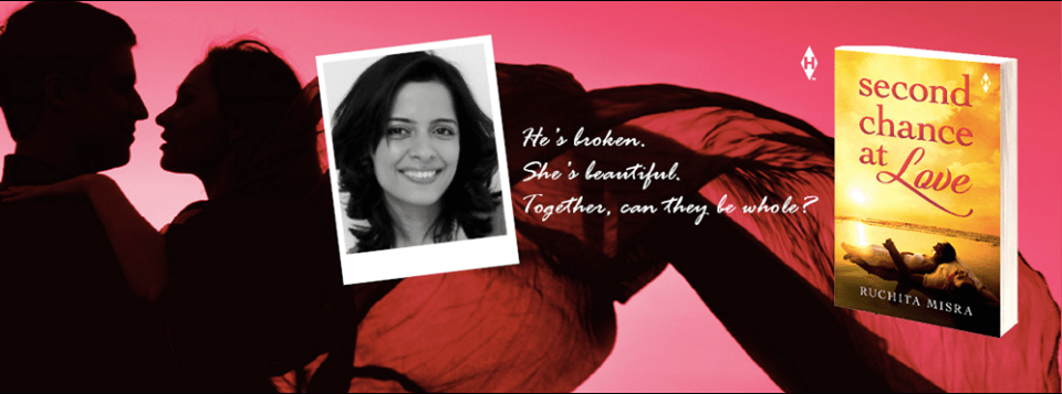 Second Chance At Love by Ruchita Misra: Author Interview & Giveaway (Winners Declared)