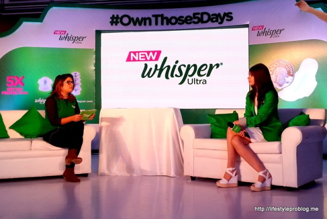 Kalki and Aditi Mittal at Whisper Event