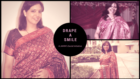 Drape A Smile – A JAMM's Social Initiative