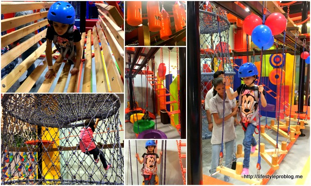 Fun O Factory Ropecourse