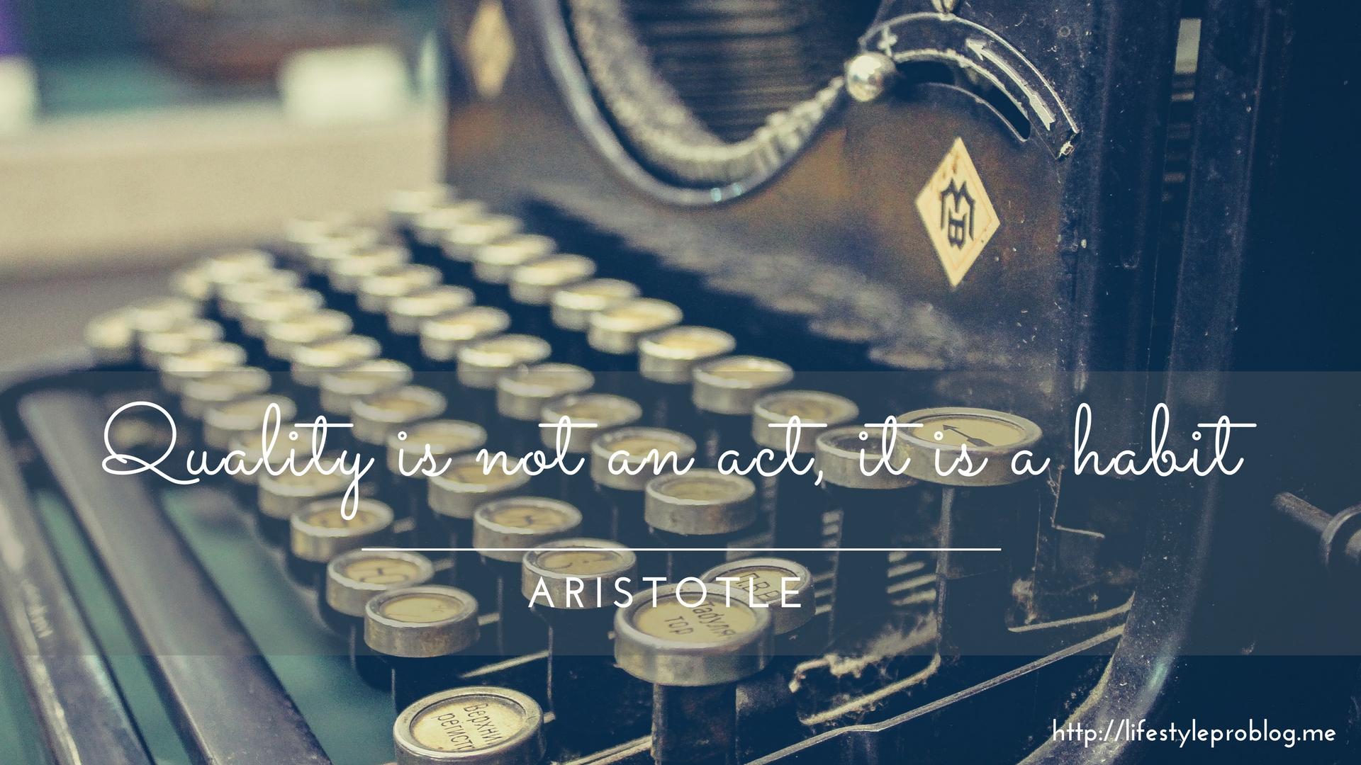 #AtoZChallenge : Aristotle Quote