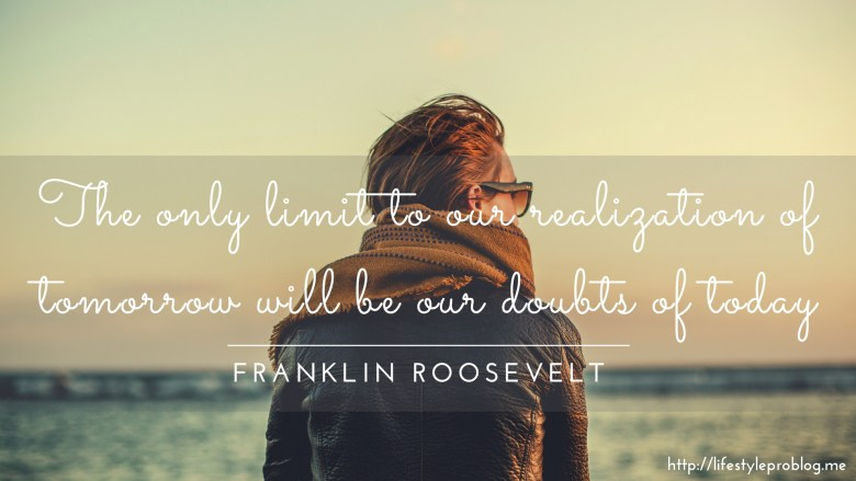 Franklin Roosevelt Quote