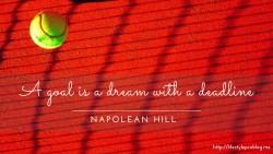 Napolean Hill Quote