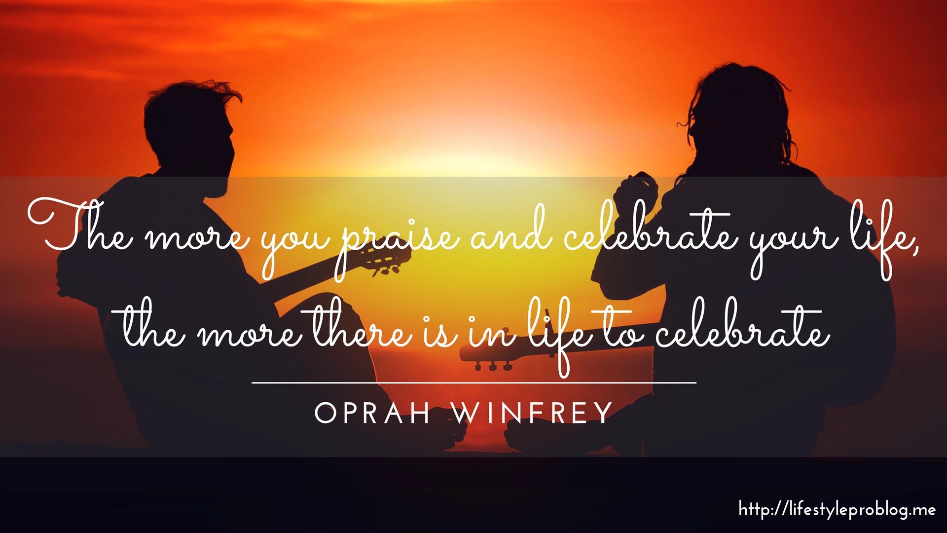 #AtoZChallenge : Oprah Winfrey Quote