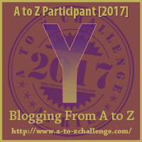 A to Z Challenge Y