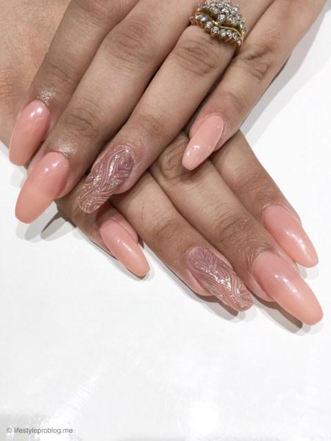 Laque Nail & Lash Lounge Nails After