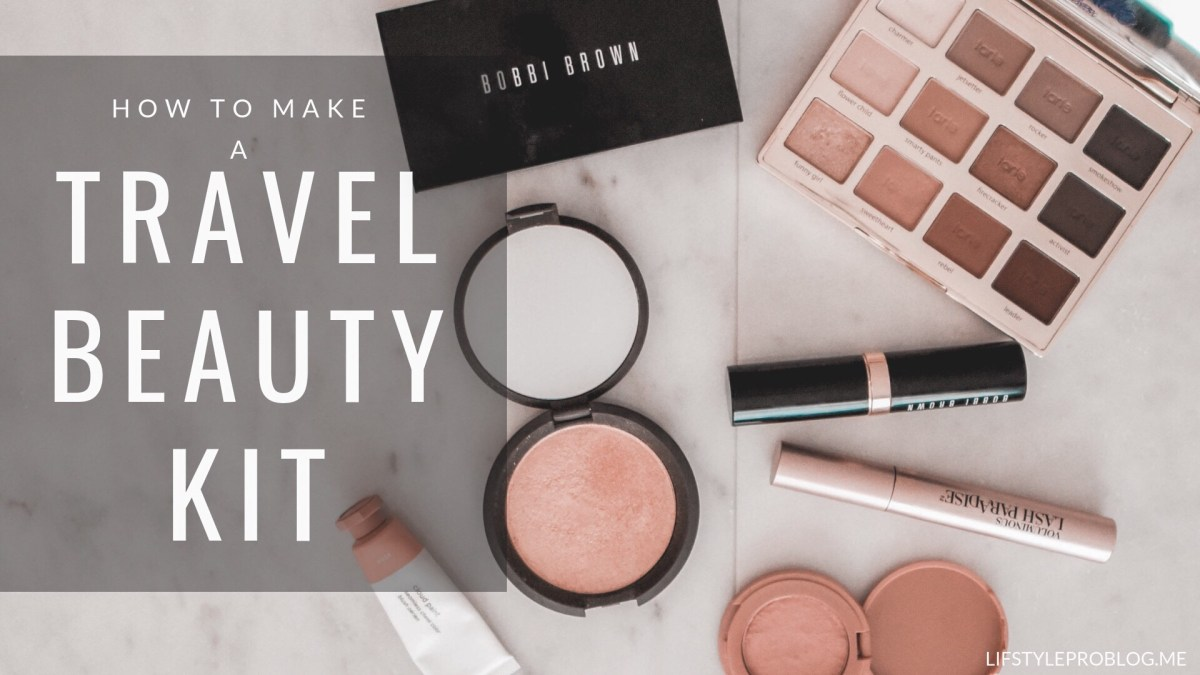 Travel Beauty Kit Pinterest