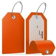 luggage tags on Amazon