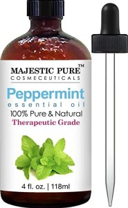 Best Essential Oil for Migraines - Peppermint Essential Oil