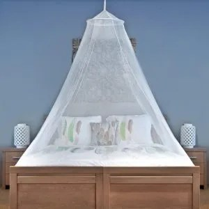 Bed net for mosquitoes and no see ums