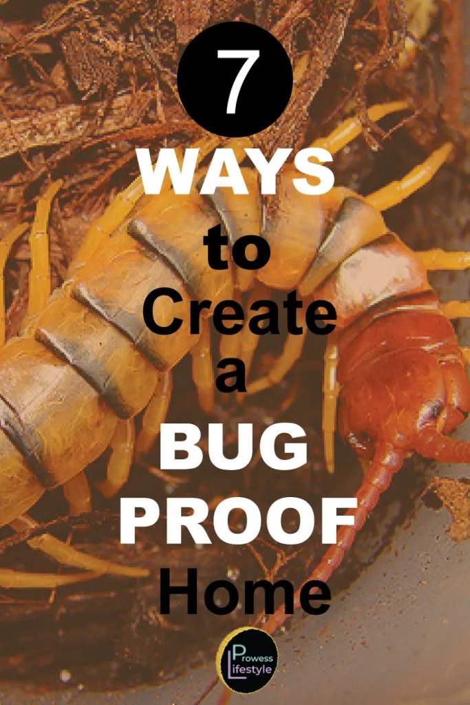 7 Ways to Bug Proof Your Home