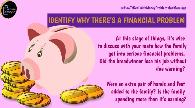 Identify Why There's a Financial Problem - Money problems in a marriage