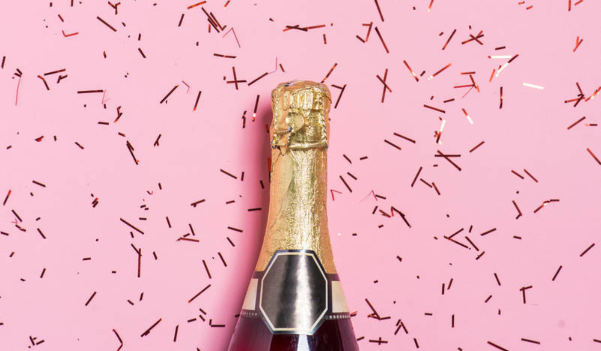 Image result for champagne cheers pink