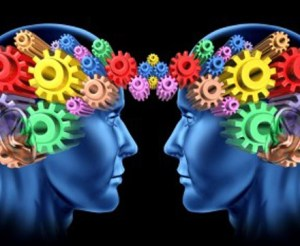 Two brains relate to each other