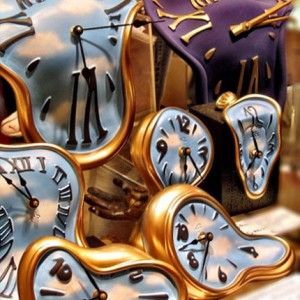 time is melting clocks