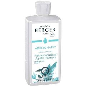 Aroma Happy Aquatic Freshness Lampe Maison Berger Fragrance 500ml - 415373