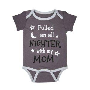 CBK Inspired Home Pulled an all nighter Diaper Shirt - ER53855