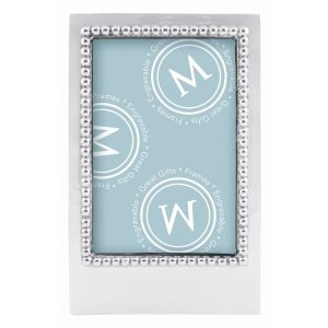 Mariposa Beaded 4x6 Vertical Statement Frame