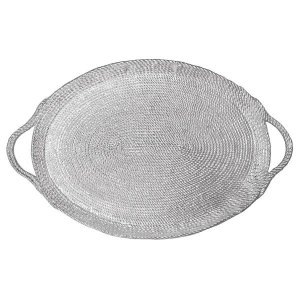 Mariposa Rope Oversized Oval Tray