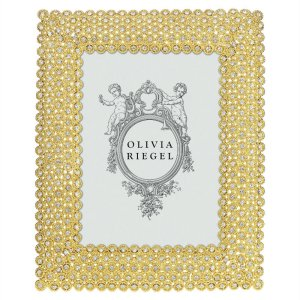 Olivia Riegel Gold Alexis 5 x 7 inch Frame - RT0341