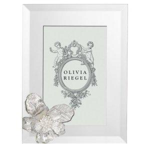 Olivia Riegel Silver Botanica 4 x 6 inch Frame - RT0181