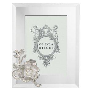 Olivia Riegel Silver Botanica 5 x 7 inch Frame - RT0182