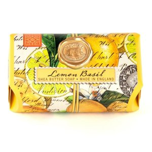 Michel Design Works Lemon Basil Large Bath Soap Bar SOAL8