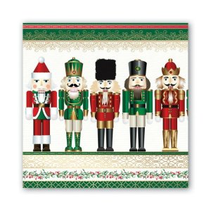 Michel Design Works Nutcracker Luncheon Napkin NAPL313