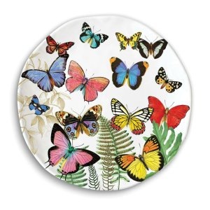 Michel Design Works Papillon Dinner Plate SWDP298
