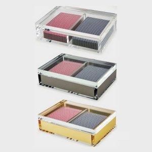 "Tizo Design <a href=""https://lifestylesgiftware.com/product/tizo-design-acrylic-card-box/"" target=""_blank"" rel=""noopener noreferrer"">Acrylic Cardholders</a>"
